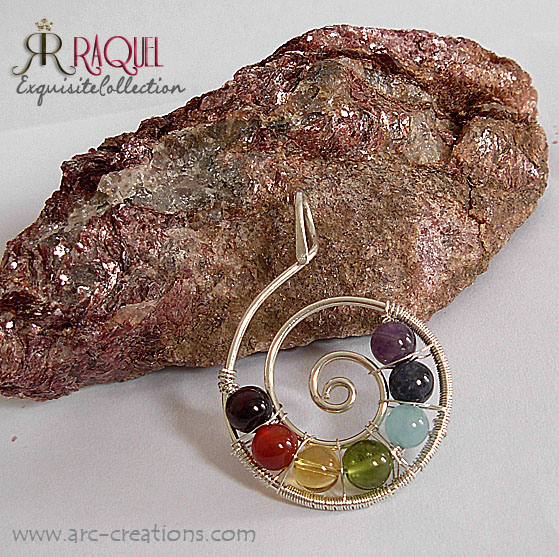 images/7 chakras spiral pendant necklace.jpg