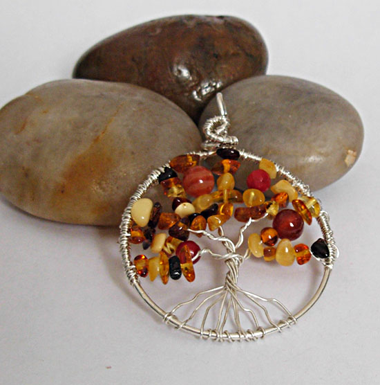 automn amber tree of life