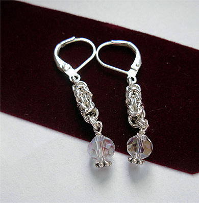 bridal set earrings