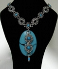 turquoise queen necklace
