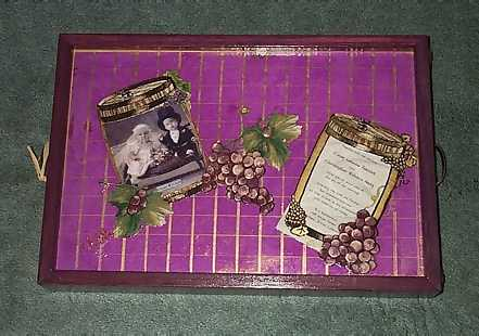 wedding tray