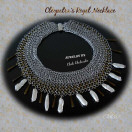 cleopatra regal chainmaille necklace